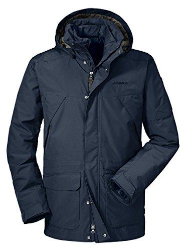 Schöffel Herren 3in1 Jacket Cusco1 Jacke, Ebony, 54