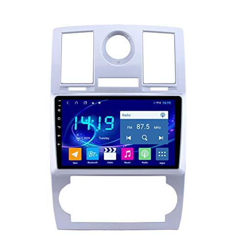 KLL 2 DIN Auto Estéreo Android 10 Car Radio De Navegación GPS para Chrysler 300C Support FM Am DSP/MP5 Player/Bluetooth SWC,WiFi+4g,2G+32G DSP