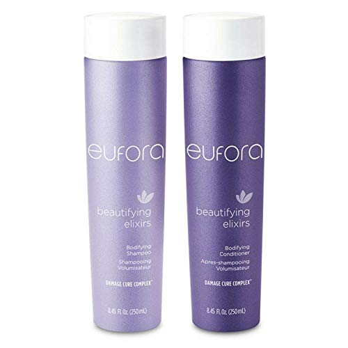 Eufora Beautifying Elixirs Bodifying Shampoo and conditioner 8.5 Oz each