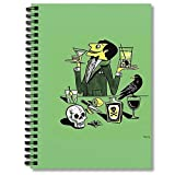 Blank Spiral Notebook Drinks Planner With Journal The Composition Mad Journaling Scientist Notebooks Next Notepad Door Wide Ruled Hexagon Paper Comic Book Bills Tracker