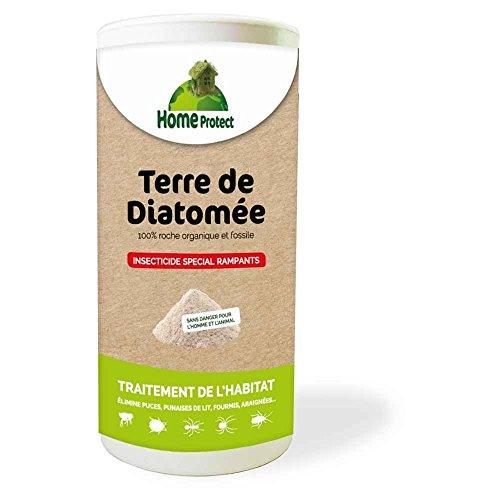 HOME PROTECT - Poudre Insecticide Terre de Diatomée pour Rampants - 250g