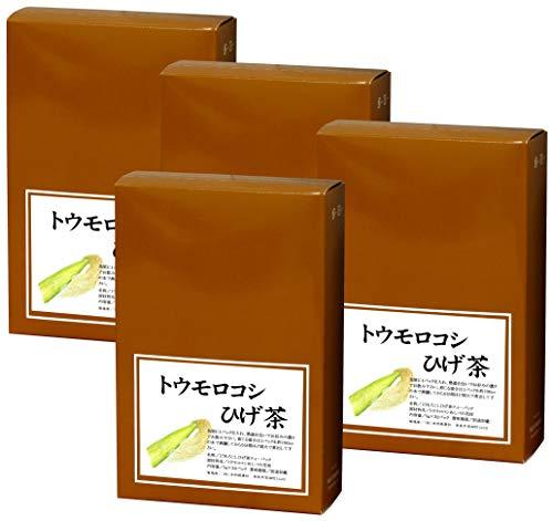自然健康社 とうもろこしひげ茶 5g×32パック×4個 煮出し用ティーバッグ