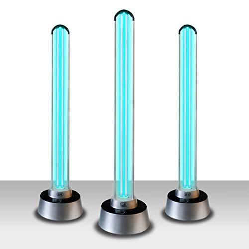 150W Mobile Sterilisationslampe, UV-keimtötende Lampe, UV-Ozondesinfektion und Milbenentfernung, Fernbedienung Home