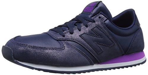 New Balance Damen Wl420 Turnschuh, dunkelviolett, 40.5 EU