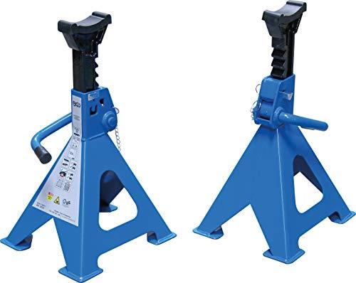 BGS 3016 | Unterstellböcke | Traglast 6000 kg / Paar | Hub 382 - 600 mm | 1 Paar | verstellbar | inkl Gummiauflage