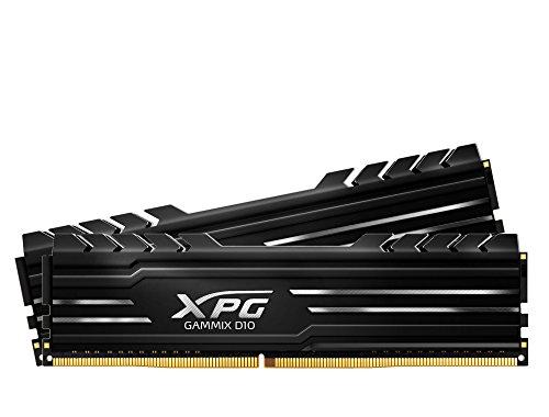 ADATA XPG GAMMIX D10 Arbeitsspeicher (32 GB, 2 x 16 GB, Dual Channel, DDR4, 2666 MHz, PC4-21300, DIMM)