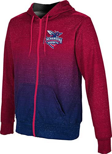 ProSphere Shenandoah University Men's Zipper Hoodie, School Spirit Sweatshirt (Ombre) A4A8F4D