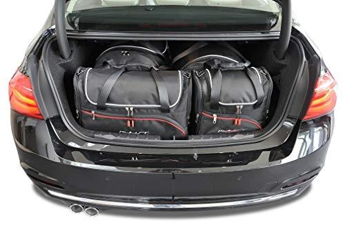 KJUST Kofferraumtaschen 4 STK kompatibel mit BMW 3 Limousine F30 2012 - 2018