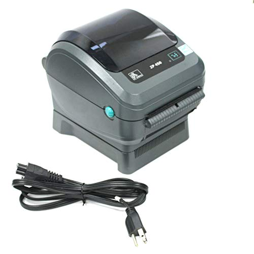 Zebra ZP450-0502-0004A CTP High Speed Direct Thermal Label Printer, Supports UPS Worldship, FedEx, Stamps, Shipworks, Shiprush and Many More