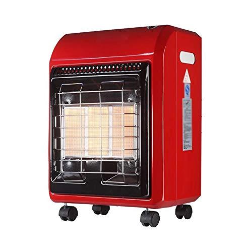 xinxinchaoshi Calefactor Portátil Calentador de terraza, Calentador de Gas licuado, Estufa de calefacción rápida Interior Ventilador Calefactor