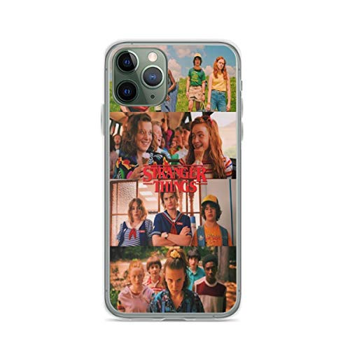 Phone Case Stranger Things Compatible with iPhone 6 6s 7 8 X XS XR 11 Pro Max SE 2020 Samsung Galaxy Shock Waterproof Funny