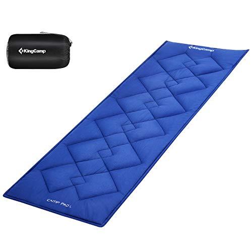 KingCamp Komfort Auflage Baumwollauflage Matte für Campingbett Feldbett GartenliegeSonnenliege203 × 76 cm
