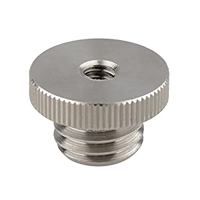 """CAMVATE 1/4""""-20 to 5/8""""-11 Threaded Screw Adapter For Tripod Laser Level BOSCH Adapter"""