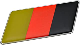 ERPART GERMAN GERMANY FLAG Emblem Badge Nameplate Decal Rare Compatible with Volkswagen VW