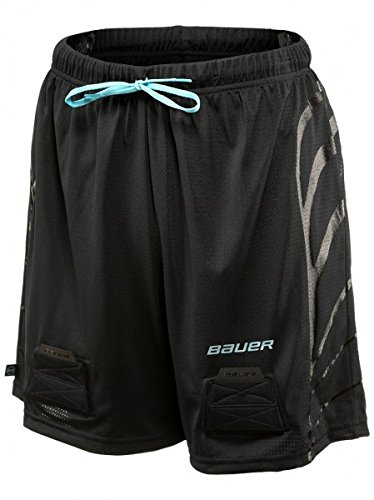Bauer Women´s Mesh Jill (Tiefschutz) Short Senior, Größe:M, Farbe:blau