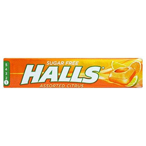 Halls Zuckerfreie Bonbons - Zitrus - 6-er Pack