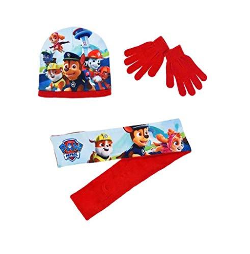 PAW PATROL Mütze Handschuhe und Schal 4-7 Jahre One Size