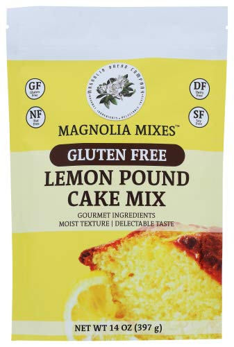 Magnolia Mixes - Cake Mix Lemon Pound Gluten Free - Case of 6-14 Oz