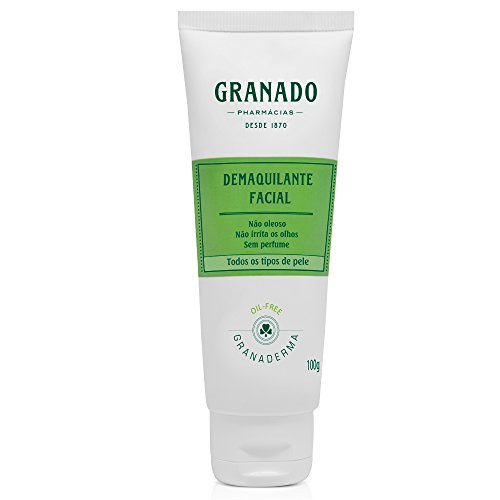 Demaquilante Facial, Granado, Verde, 100g