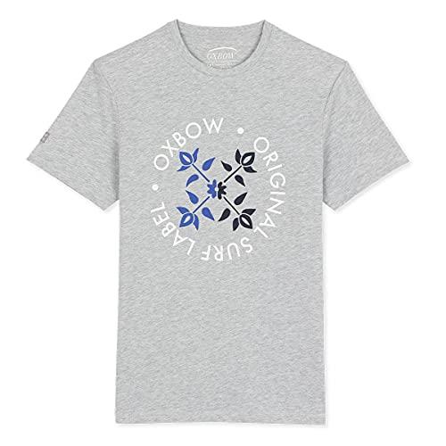 Oxbow N2tynda - Camiseta para Hombre, Hombre, Camiseta, N2TYNDA, Gris Multicolor, Extra-Large