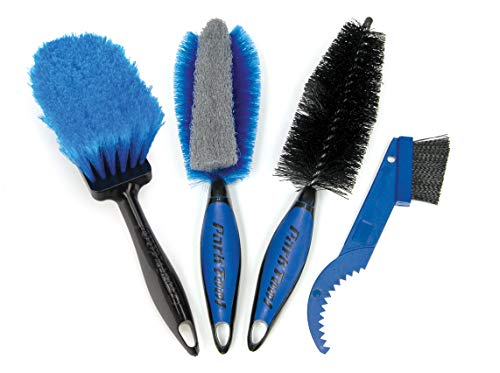 Park Tool BCB-4.2 Bike Cleaning Brush Set Herramienta, Unisex Adulto, Azul