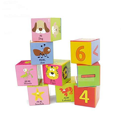 TnSok Niños de 3 a 12 años Pintura en Seis Dimensiones Bloques de construcción tridimensionales Grandes Juguetes for niños Ed- ucational Juguete es