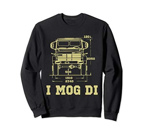 Unimog Laster I Mog Di LKW Lastkraftwagen Geschenkidee Sweatshirt