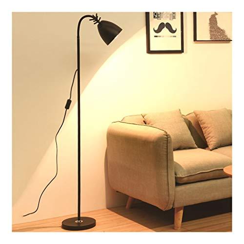 WINON Lámpara de pie Lámpara de pie LED Regulable Nordic Elk Luz de Piso Decorativa Protección for los Ojos Dormitorio Sala de Estar Estudio Lectura Lámpara Vertical Lámpara de Suelo
