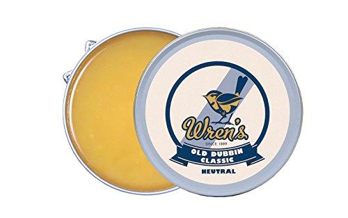 Lederfett Wren's Old Dubbin Classic, Klassische Fettpaste zum Imprägnieren und Pflegen von glattem, genarbtem und geöltem Leder, Qualität und Prestige seit 1889, geeignet, 100 ml