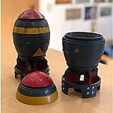 WPUY Aufbewahrungsbehälter in Bombenform, 20 cm, Retro-Optik, Mini-Nuke-Bomb-Aufbewahrungsbox,...