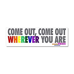 Unleash Your Inner Unicorn With These Fab Gay Pride Bumper Stickers