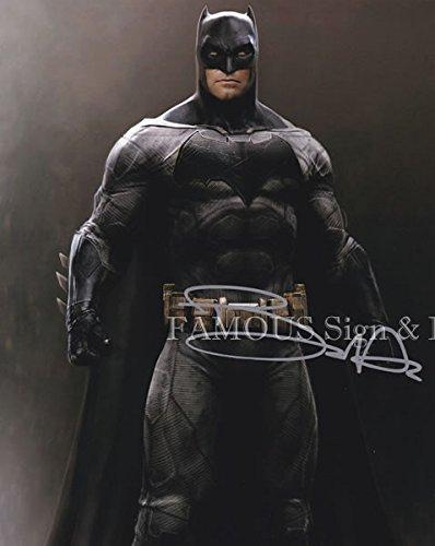 直筆サイン入り写真 ベン・アフレック (バットマン vs スーパーマン ジャスティスの誕生 映画グッズ)【証明書(COA)・保証書付き】