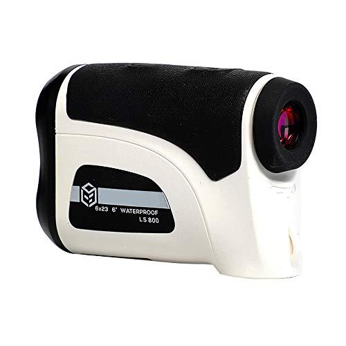 Golf Rangefinder Hunting 800M / 1200M Telescoop Laser Afstandsmeter Golf Digital Monocular Range Finder Hoek Meten,800m white