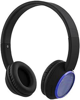 STREETZ HL-346 kabelborttagbara över-örat hörlurar – blå/svart