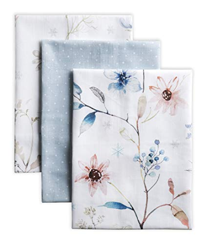 Maison d' Hermine - Toalla de cocina multiusos de algodón 100%, suave, absorbente, toalla para platos | Paños de cocina | Toallas de bar | Acción de Gracias/Navidad