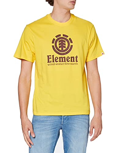 Element Vertical Camiseta de Manga Corta para Hombre, Dandelion, M