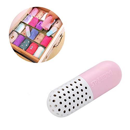 XUENI Capsule Desiccant, Schoenendeodorant, Schoenenkast, Garderobe, Lade, Huishoudelijk vochtbestendig middel, schimmelbestendig, insectenbestendig en Geurverwijdering