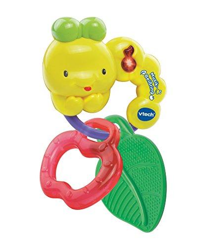 VTech Baby 80-185204 - Musik-Beißring, grün/gelb