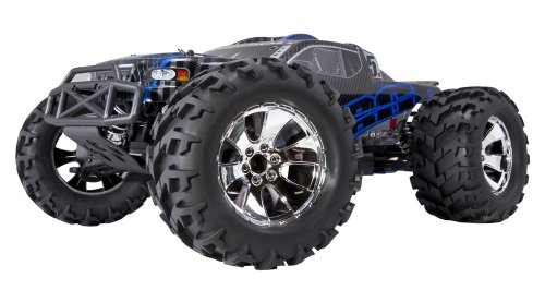 Redcat Racing Earthquake 3.5 Monster Truck Nitro 2-Speed with 2.4GHz Radio (1/8 Scale), Blue