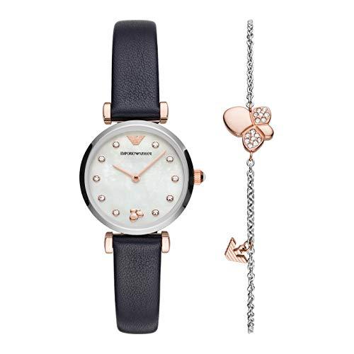 Emporio Armani Reloj Analógico para Mujer de Cuarzo AR80036