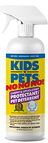 KIDS 'N' PETS – NO NO NO! Carpet & Upholstery Protectant/Pet Deterrent – 27.05 oz (800 ml) | Professionally Formulated to Deter Chewing, Scratching & Urine Marking | Non-Toxic & Child Safe