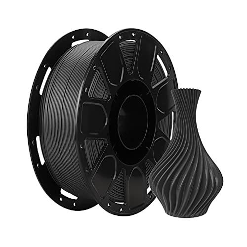 Creality PLA Filament 1.75mm, Filamento para Ender Impresora 3D, 1kg Spool(2.2lbs) Negro