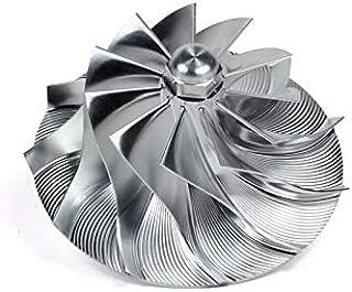 Dieselsite Wicked Wheel 2 Billet Turbo Compressor Wheel For 2011-2016 Chevy/GMC 6.6L LML Duramax Diesel