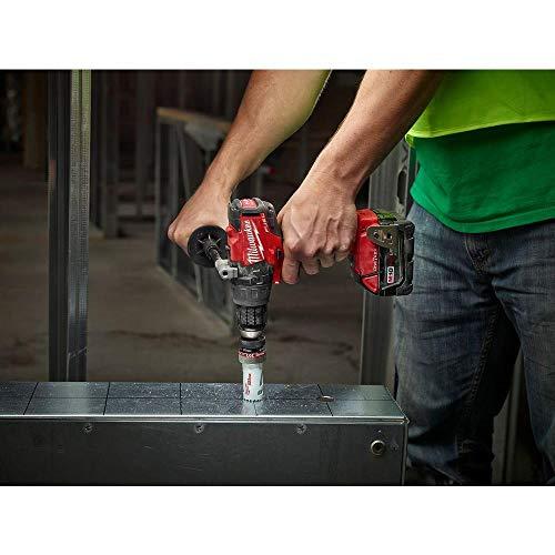 Milwaukee 2704-20 M18 FUEL 1/2' Hammer Drill/Driver (Bare Tool)-Peak Torque = 1,200
