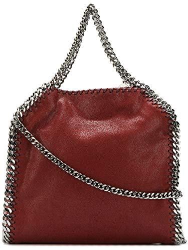 Stella McCartney Luxury Fashion Damen 371223W91326261 Bordeauxrot Synthetisch Fasern Handtaschen | Jahreszeit Permanent