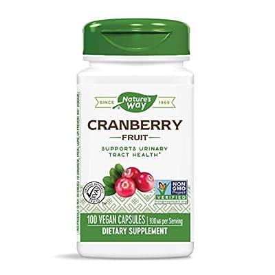 Nature's Way Cranberry Fruit, 465mg, 100 Capsules