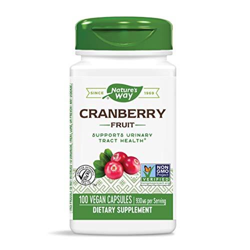 Cranberry-Frucht, 465 mg, 100 Kapseln - Weg der Natur