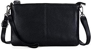 Befen Women's Leather Wristlet Mini Crossbody Bag, Small Crossbody Clutch Purse with Card Slots