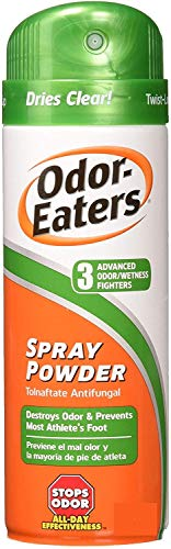 Odor-Eaters Foot Spray Powder, 4 oz, Pack of 2
