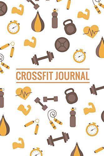 Crossfit Journal: WOD Crossfit Journal | 101 pages, 6x9 inches | Gift for Crossfiters